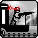 دانلود بازی شلیک استیکمن از قطار Stickman Train Shooting v1.2 اندروید