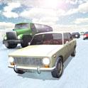 دانلود بازی مسابقه در ترافیک روسیه Russian Winter Traffic Racer v1.02 اندروید