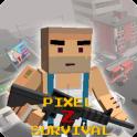 دانلود بازی پیکسل زد Pixel Z Survival-Block Hunter v1.3 اندروید – همراه نسخه مود + تریلر