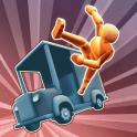 دانلود بازی شبیه ساز تصادف Turbo Dismount v1.43.0 اندروید + مود + تریلر