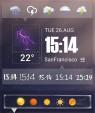 دانلود Amber Weather Premium 4.7.1 نرم افزار هواشناسی برای اندروید