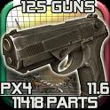 دانلود بازی جداسازی قطعات تفنگ ۲ – Gun Disassembly 2 v12.2.0 اندروید