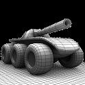 دانلود بازی تانک شش چرخ Six Wheels and a Gun v3.12 اندروید