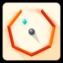 دانلود بازی فکری چند ضلعی Bouncy Polygon v1.3 اندروید