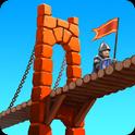 دانلود بازی پل سازی در قرون وسطی Bridge Constructor Medieval v1.5 اندروید – همراه نسخه مود + تریلر