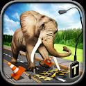 دانلود بازی سر و صدای فیل Ultimate Elephant Rampage 3D v1.0 اندروید