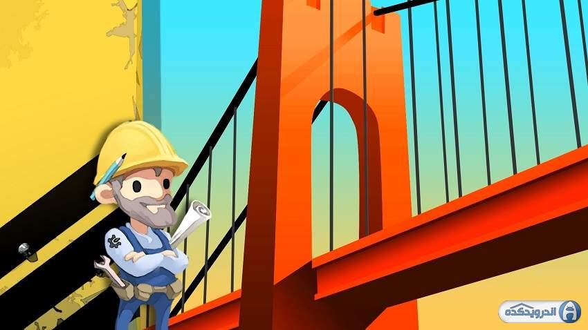 دانلود بازی ساخت پل Bridge Constructor v11.1 اندروید