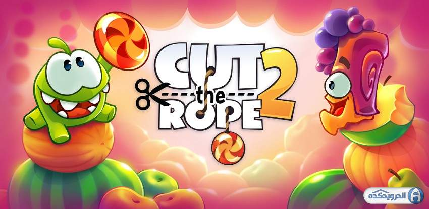 دانلود بازی طناب را ببر 2 - Cut the Rope 2 v1.30.0 اندروید