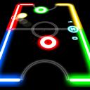 دانلود بازی هاکی Glow Hockey v1.3.9 اندروید