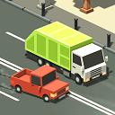 دانلود بازی مسابقه در ترافیک Blocky Traffic Racer v1.1 اندروید