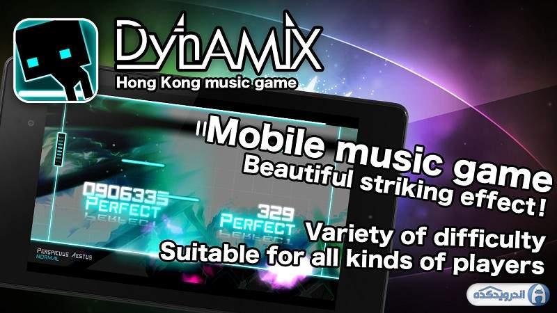 دانلود Dynamix 3.16.01 بازی داینامیکس اندروید + دیتا + مود