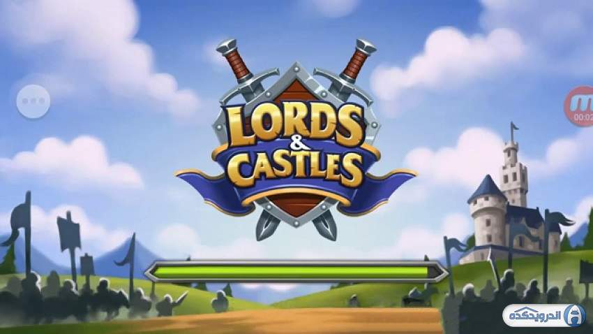 دانلود بازی اربابان و قلعه ها Lords Castles v1.81 اندروید