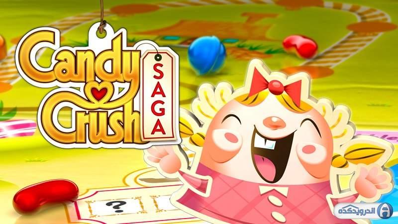 دانلود Candy Crush Saga 1.196.0.1  بازی کندی کراش سگا اندروید