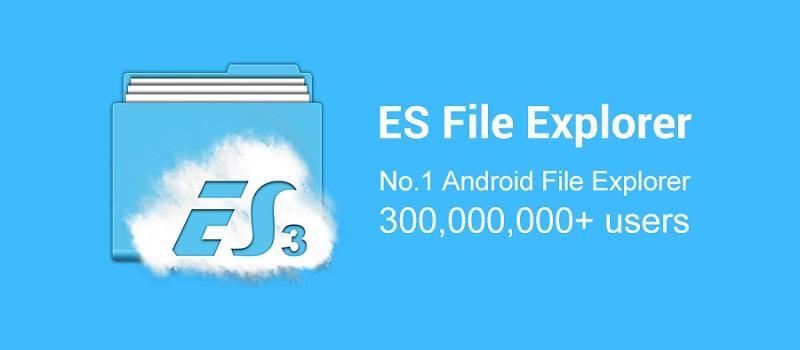 دانلود ES File Explorer File Manager برنامه فایل منیجر اندروید