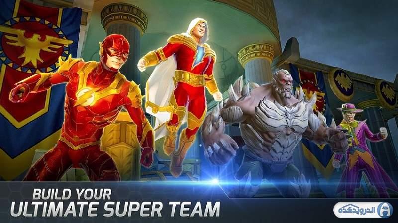 دانلود بازی افسانه های دی سی DC Legends v1.27.3 اندروید