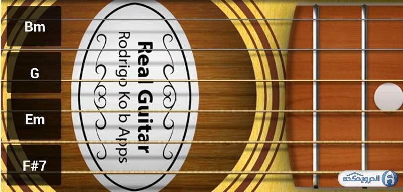 دانلود نرم افزار شبیه ساز گیتار Real Guitar