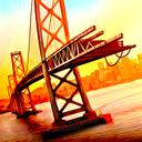 دانلود بازی شبیه ساز پل سازی ۴٫Bridge Construction Simulator v1.2 اندروید