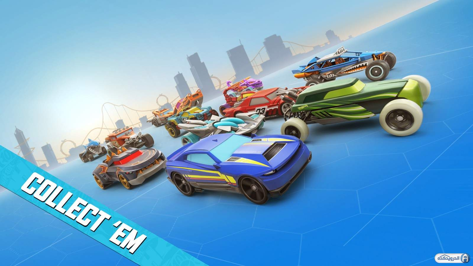 دانلود Hot Wheels: Race Off v11.0.12232 بازی چرخ های داغ برای اندروید