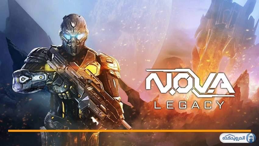 دانلود N.O.V.A. Legacy بازی میراث نوآ برای اندروید + مود