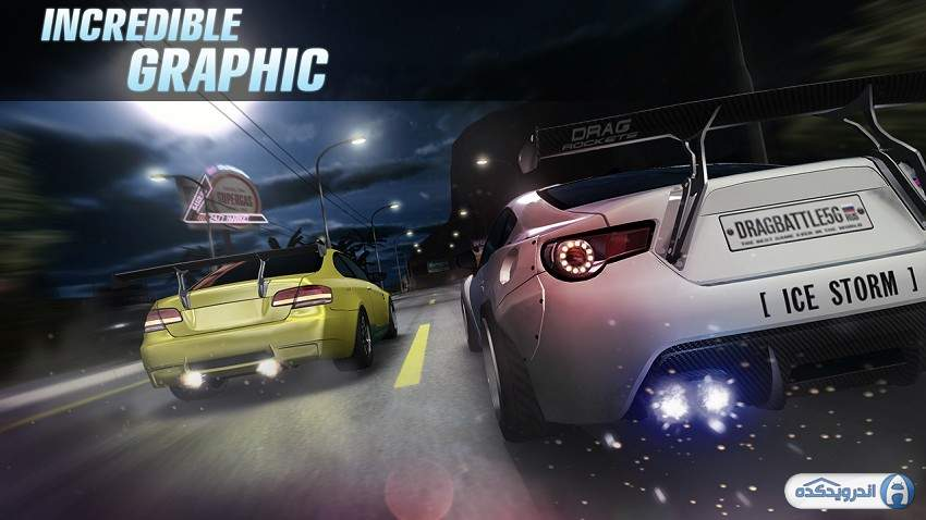 دانلود Drag Battle racing v3.25.87 بازی مسابقات درگ برای اندروید