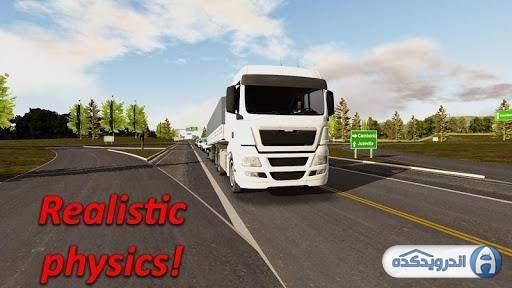 دانلود Heavy Truck Simulator v1.976 بازی شبیه ساز کامیون سنگین اندروید