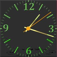 دانلود Nice Night Clock برنامه ساعت شب آنالوگ اندروید