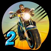 دانلود Moto Racing 2: Burning Asphalt v1.111بازی مسابقه موتور سواری اندروید+مود