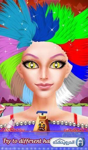 دانلود Pretty Halloween Girls Makeup v1.0.1بازی آرایش دخترانه زیبا برای هالوین اندروید