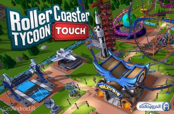 دانلود RollerCoaster Tycoon Touch 3.18.10 بازی شبیه سازی شهربازی اندروید