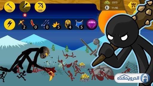 دانلود Stick War: Legacy v2021.1.4 بازی استراتژیک استیک وار اندروید