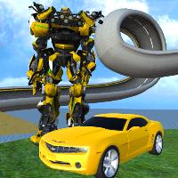 دانلود Extreme X Ray Robot Stunts V1.5.1 بازی موانع ربات اشعه ایکس اندروید