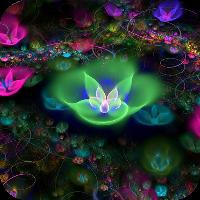 دانلود Fantasy Flowers Live Wallpaper v1.3 برنامه تصویرزمینه گل اندروید