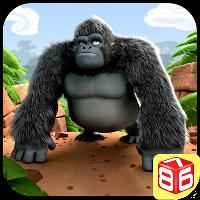 دانلود Gorilla Run – Jungle Game v2.8گوریل دونده_بازی در جنگل اندروید