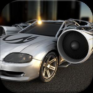 دانلود Jet Car – Extreme Jumping V 3.8 ماشین جتی:با قدرت پرش های بلند اندروید