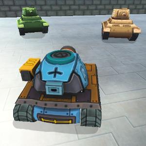 دانلود Mini Tanks 3D V 20161020 بازی مینی تانک های سه بعدی اندروید