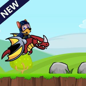 دانلود Paw puppy dog run patrol 3d V1.0 بازی سه بعدی سگ کوچولو اندروید