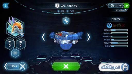 دانلود BEYBLADE BURST app v9.4 بازی انفجاراندروید