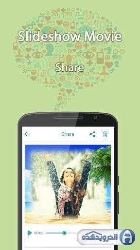 دانلود Slideshow Maker v27.0 نرم افزارساخت اسلاید شو اندروید