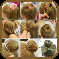 دانلود Hair styles for girls v1.0 نرم افزارمدل مو دخترانه اندروید