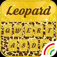 دانلود Leopard RainbowKey Theme v1.5.0 تم صفحه کیبورد پلنگی اندروید