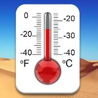 دانلود Real Thermometer v1.1 نرم افزار دماسنج واقعی اندروید