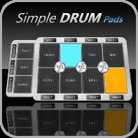 دانلود Simple Drum Pads V1.0.9 برنامه آهنگ سازی اندروید