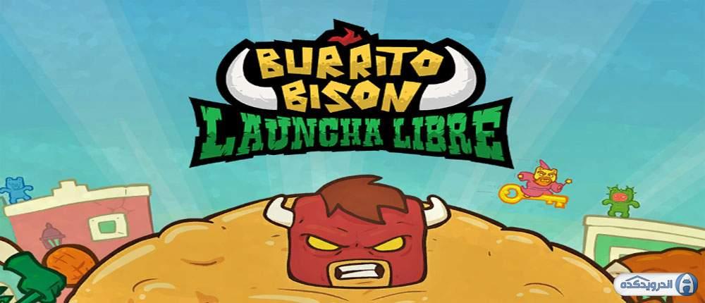 دانلود Burrito Bison: Launcha Libre 3.52 بازی بوریتو بایسون و نجات دنیا اندروید + مود