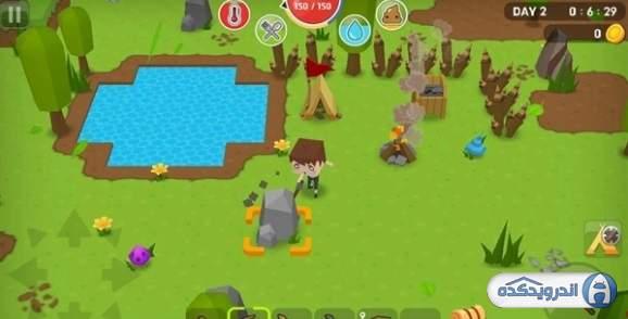 دانلود Mine Survival 2.4.2 بازی ماجراجویی بقا  اندروید