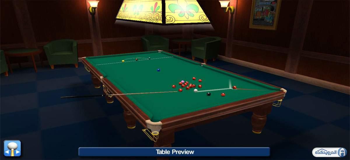 دانلود Pro Snooker 2021 1.45 بازی بیلیارد-اسنوکر حرفه ای 2021 اندروید