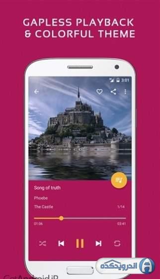 دانلود Pulsar Music Player Pro 1.10.7 نرم افزار موزیک پلیر حرفه ای اندروید