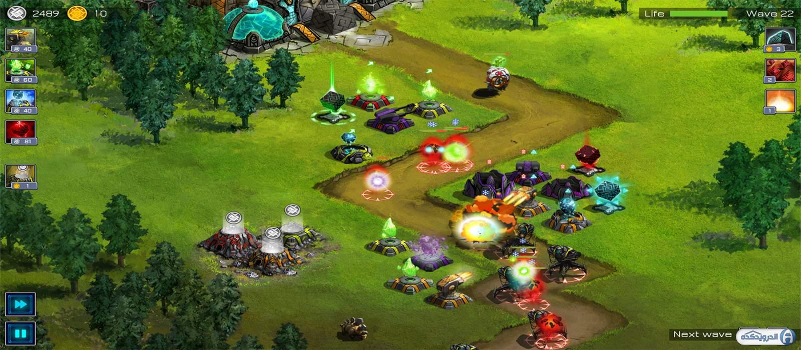دانلود Ancient Planet Tower Defense 1.2.17  بازی برج دفاعی سیاره باستانی اندروید + مود