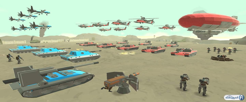 دانلود Army Battle Simulator 1.3.10  بازی شبیه ساز نبرد ارتش اندروید