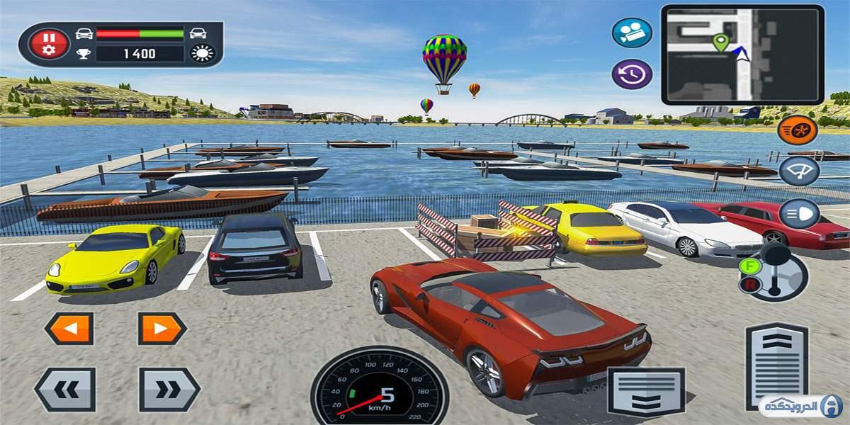 دانلود Car Driving School Simulator 3.2.0 بازی شبیه ساز مدرسه رانندگی اندروید + مود