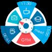 دانلود S.Graph: Calendar clock widget Pro 5.2.4 نرم افزار تقویم و ساعت برای برنامه ریزی و زمانبندی  اندروید